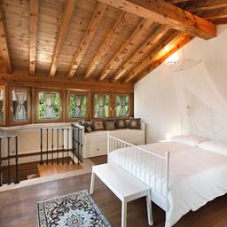 Romantica camera da letto